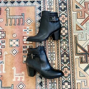 chelsea crew | leather ankle booties